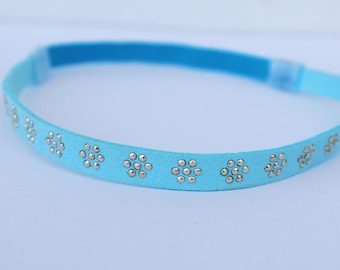 Light blue headband, baby Blue headband, blue baby girls headband, Baby Headband, Infant Headband, Spring Headband, Summer Headband