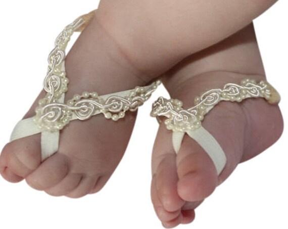 Barefoot Baby Sandals, Sandals Baby, Barefoot Sandals, Sandals For Babies, Toddler Sandals, Crib Shoes, Baptism Sandals, Baptism Accessories