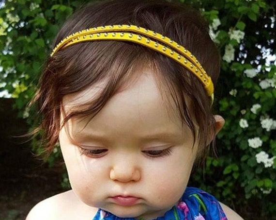 Yellow Headband, Yellow Baby Headband, Baby Headband, Baby Girl Headband, Fall Baby Headband, Newborn Headband, Infant Headband