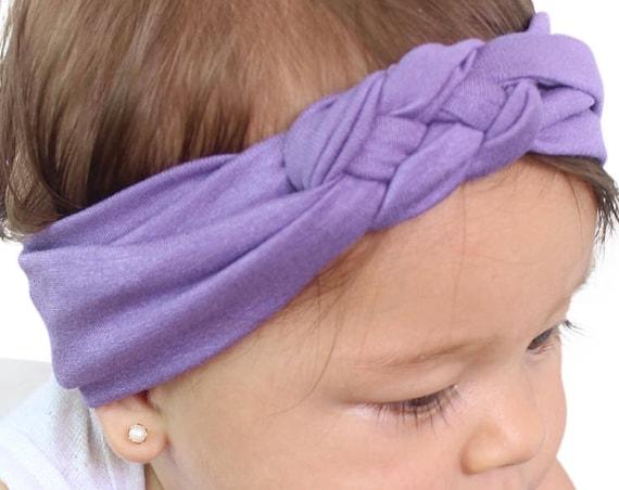 Lilac Headwrap, Headwrap Baby, Newborn Headwrap, Celtic, Head Wrap For Baby, Infant Head Wrap, Turban Headband Baby, Baby Head Wrap Turban