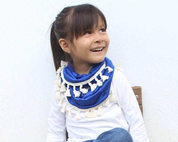 Baby Scarf, Infinity Scarf, Trendy Baby Clothes, Baby Girl, Baby Clothes, Scarf, Scarves, Baby Shower Gift, Tube Scarf, Blue Scarf