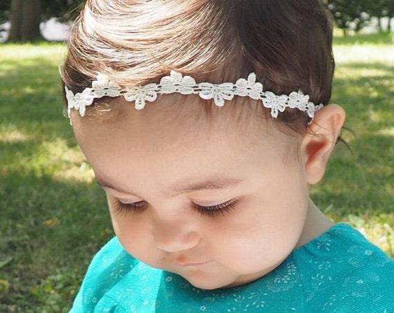 Baby Shower Gifts, Baby Girl Headband, Headband Baby, Halo Headband, Headband for Babies, Baby Headband, Headbands, Newborn Headband