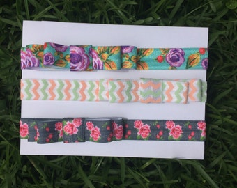 Baby Headbands Set, Headbands Set, Infants Headband, Set of Headband,  Newborn Bows, Baby Headband, Bows Headbands, Elastic Headbands