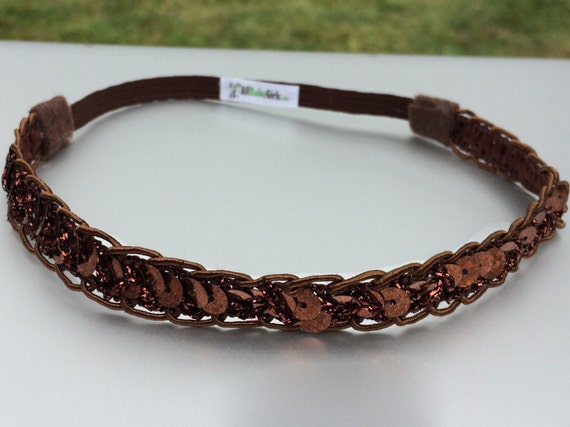 Brown Headbands, Baby Headband, Infant Headbands, Newborn Headband, Headbands For Babies, Baby Headbands, Halo Headband, Sequin Headband