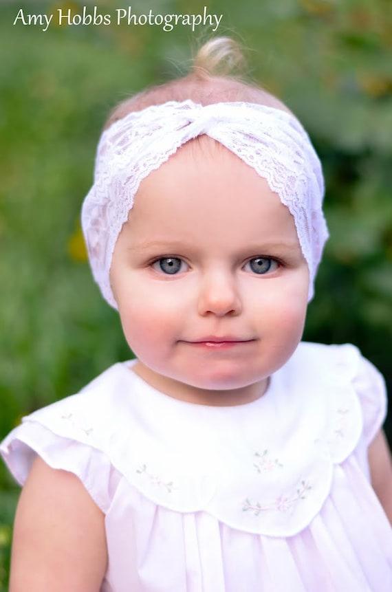 Lace Turban Headband Baby Turban Headband Twisted Headband  9ae10277979
