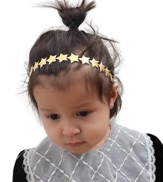 Gold Star Headband Gold Baby Headband Gold Headband Baby  880c397dcb6