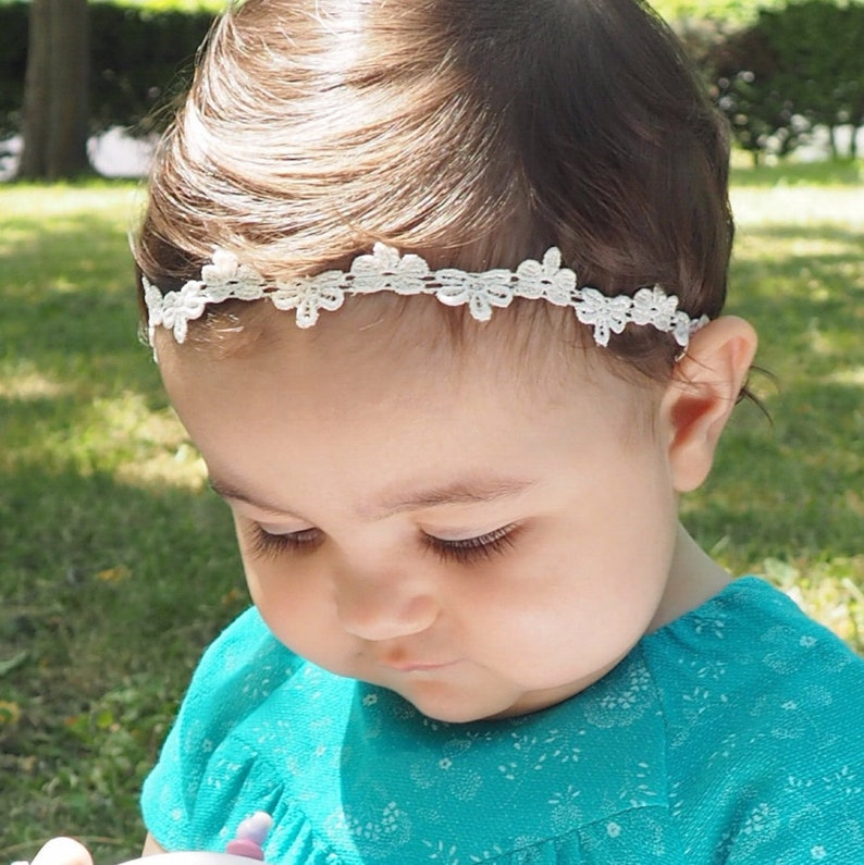 Baby Shower Gifts Baby Girl Headband Headband Baby Halo | Etsy
