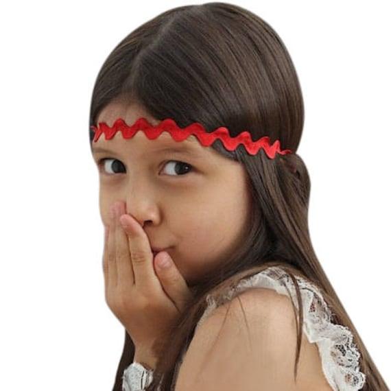Red Headbands, Baby Headbands, Holiday Headbands, baby Red headbands, Red hair accessories, hair headbands, headbands