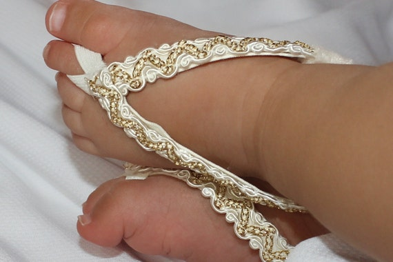 Baby Girl Shoes, Gold Barefoot Sandals, Crib Shoes, Barefoot Sandals, Sandals For Babies, Toddler Sandals, Gold Sandals, Baptism Shoes