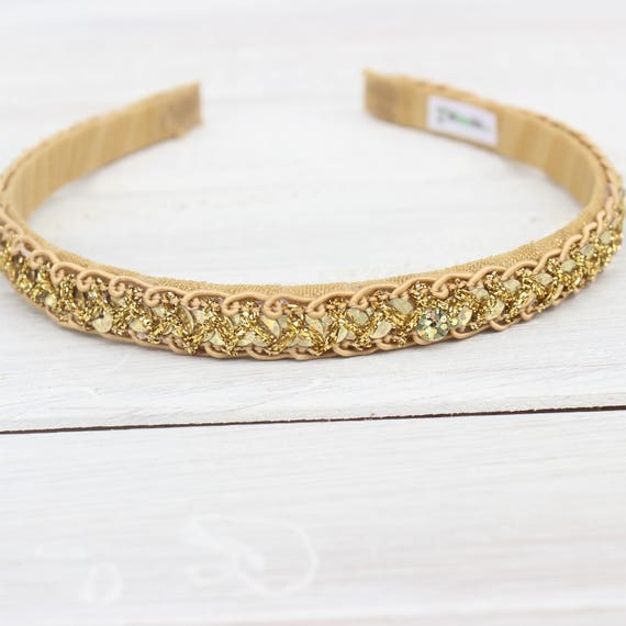 Gold Headband Girls, Girls Headbands, Girls Headband Gold, Wedding headband, first birthday, Flower Girls Headband, Birthday Girls