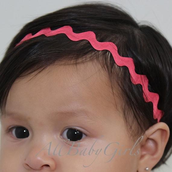 Hot Pink Headband, Pink Baby Headband, Pink Headband, Newborn Headbands, Pink Headband Baby, Baby Headband, Infant Headbands, Halo Headband