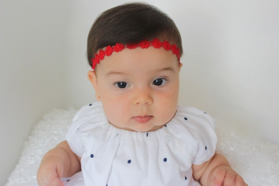 Christmas Headbands For Babies.Christmas Headband Red Baby Headbands Baby Headbands Red Headbands Headband Red Headband Newborn Headband Infant Headbands Baby