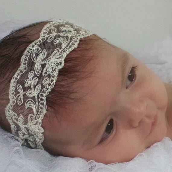 Baby Headbands, Lace Baby Headband, Baby Lace Headband Baby, Beige Baby Headband, Lace Headband Baby, Headband Wedding, Wedding Accessories