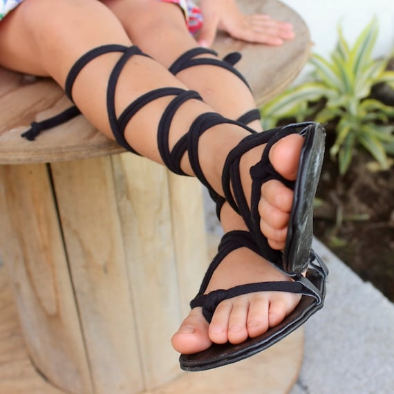 Gladiator Sandals, Leather Baby Sandals, Infant Girl Sandals, Baby Sandals, Greek Sandals, Toddler Shoes, Lace Up Baby Sandal, Rome Sandals