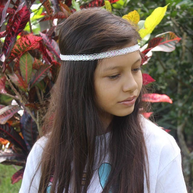 White Forehead Headband 372c6d98cdf