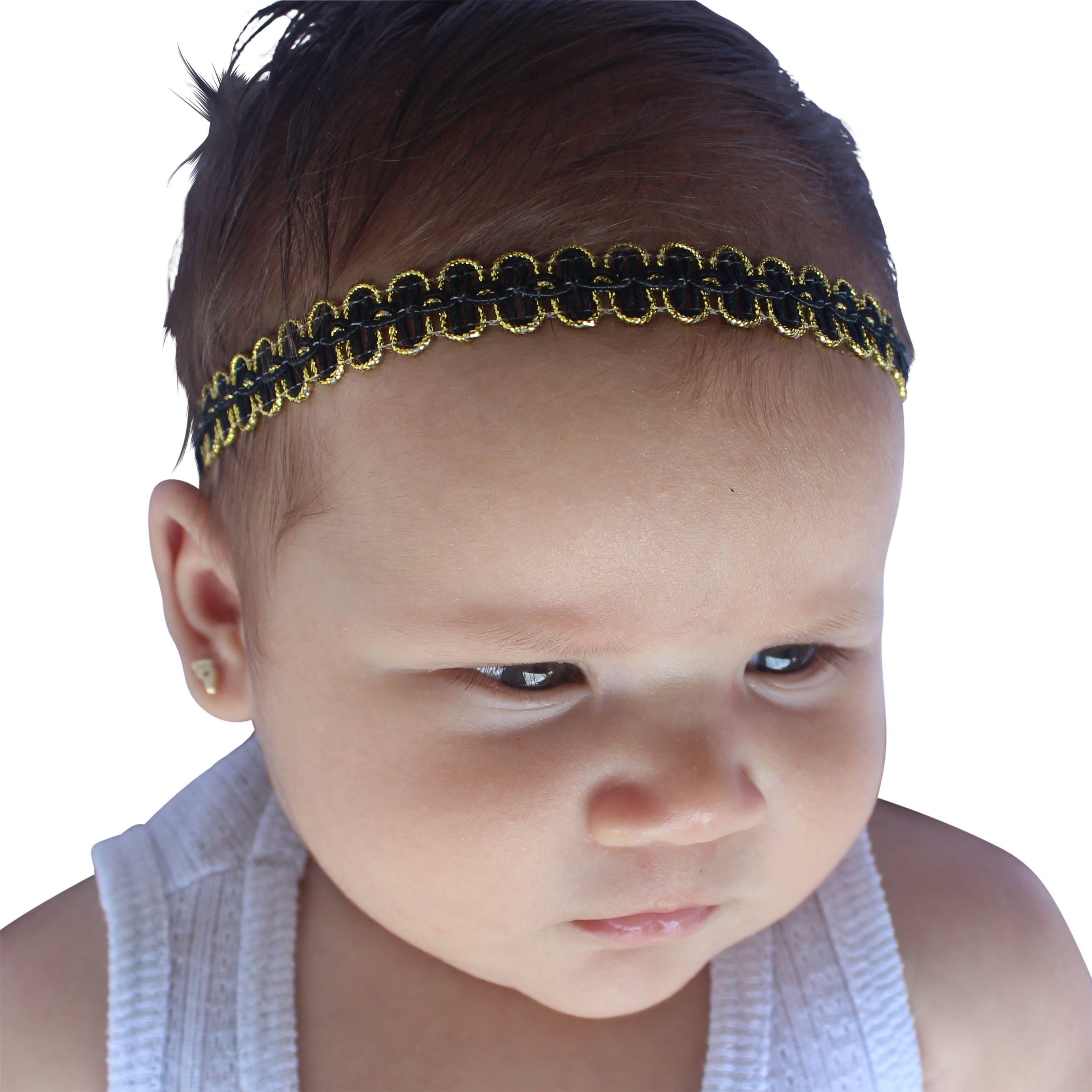 Baby Black Headband 4409529282b