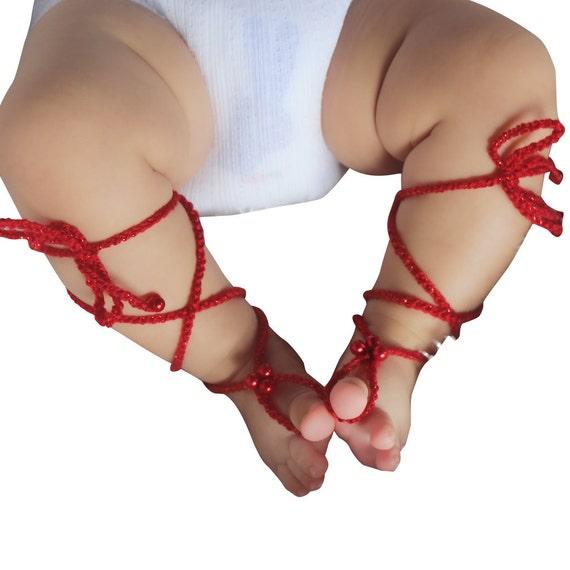 Baby Baby-Mädchen-Sandalen Sandalen barfuß Sandalen Baby | Etsy