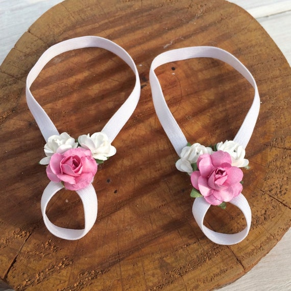 White Barefoot Sandals, Barefoot Sandals Baby, Barefoot Baby Sandals, Flower Baby Sandals, Baby Barefoot Sandals, Barefoot Sandals For Baby