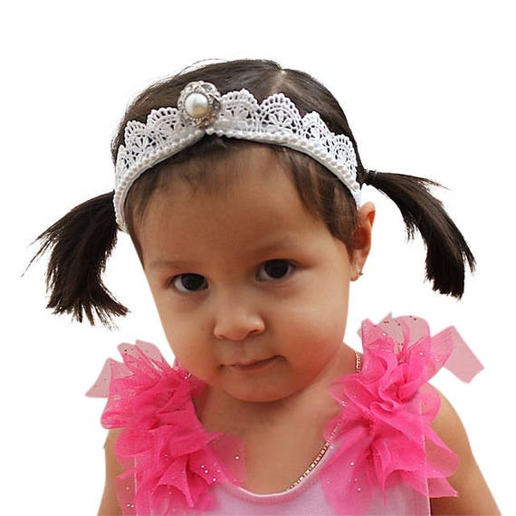 White Baby crown, birthday crown headband, crown headband women, silver crown headband, crown headband, baby, toddler, girls crown