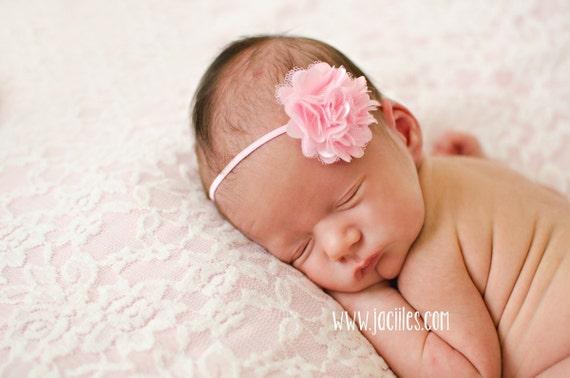 Pink Headband, Baby Headband, Flower Headband, Pink Headband, Infant Headbands, Newborn Accessories, Girl Headband, Headband for Babies