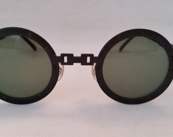 5761c940bb72a Vintage John Lennon Style Round Cable Sunglasses. Cool Cable