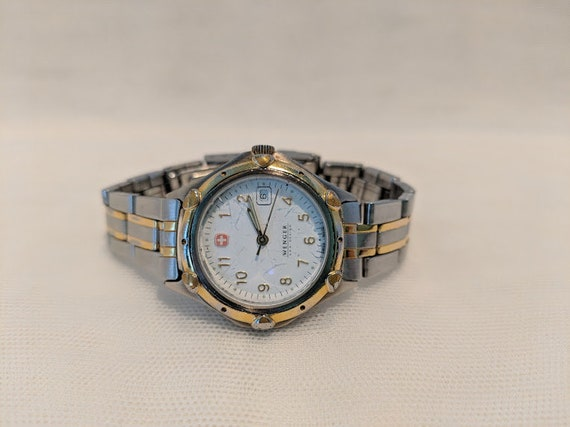 Vintage Women's Wenger Watch. Wenger S A K Design Watch. Womens's Wenger Swiss Made Watch.