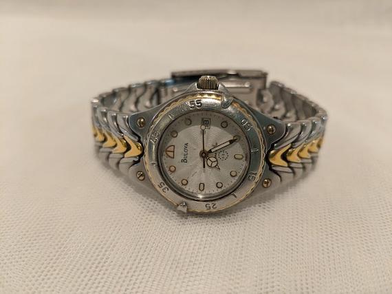 Vintage Buluva Women's Casual/ Sports Watch. Buluva Quarts Water Resistant Wrist Watch.  Buluva Marine Star Women's Sports Watch.