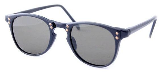 Vintage Black Studded  Horn Rimmed Sunglasses, Cute Cat's eye Sunglasses, Retro Cat's Eye Sunglasses, Boho Sunglasses (SALE)