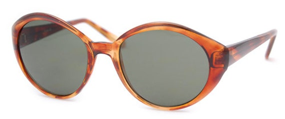 Vintage Disco Fly Girl Sunglass (Light Brown)