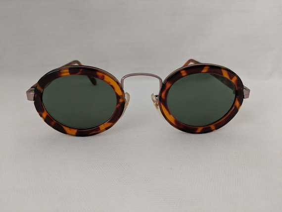Vintage Oval Steam Punk #2 Sunglasses,Tortoise Shell Frame.  Cool Steam Punk Sunnies. Impact resistant Lenses