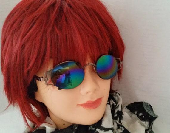 GV Designer Inspired Retro Sunglasses. Copper Tone Designer Inspired Sunglasses. Cool Designer Inspired Sunglasses. Retro Funky Sunglasses