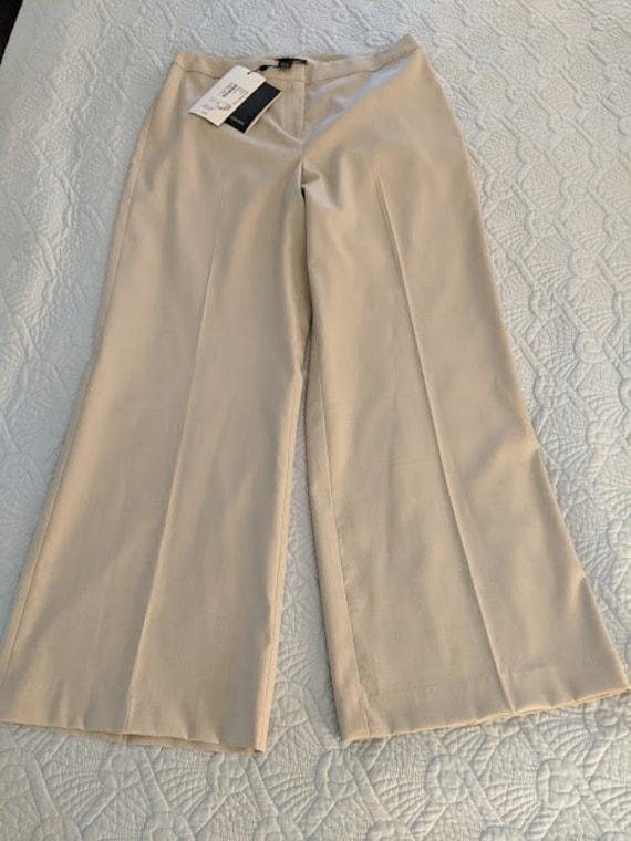 Vintage ST SALE SALE John Diana Almond Wool Blend Dress Pants John Dress Slacks St Vintage Brand New With Tags Wool Blend Slacks