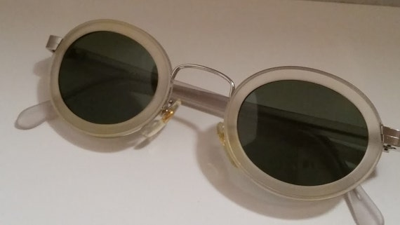 ef5717771c4 ... Vintage Oval Steam Punk  2 Sunglasses