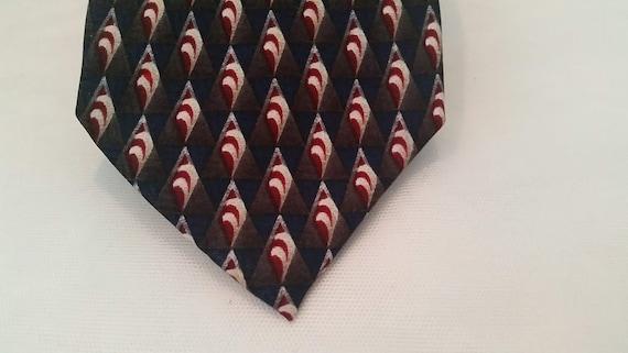 Vintage J Z Richards for Nordstrom Neck Tie. Designer Neck Tie. All Silk Nordstrom Men's Tie