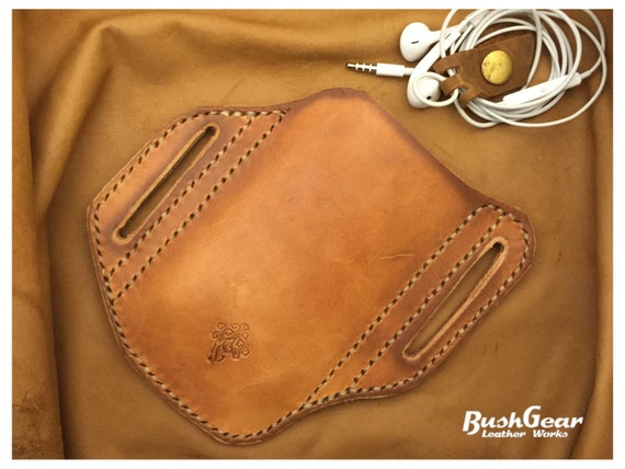 new styles 2d02d b953b iPhone 8 / 7 / 6S Leather belt holster 6s M17