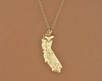 California love necklace - california necklace - The sunshine state - LA - Los angeles - san diego necklace - san francisco necklace