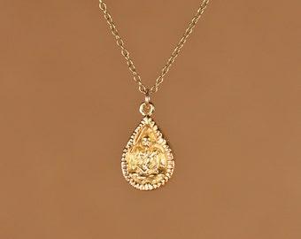 Buddha necklace - yoga necklace - mediatation necklace - peace - zen