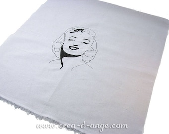 Embroidered on grey Marilyn measurement-Coupon coupon