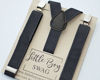 Boys Suspenders, Ring Bearer Outfit, Boys Suits, Mens Suspenders, Boys Clothes, Toddler Suspenders, Wedding Outfit, Boys