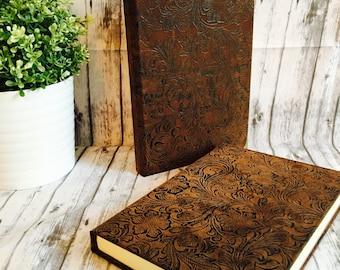Hardcover Journal, Blank Journal, Writing Journal, Unlined Journal, Sketchbook, Large Journal, Cloth Journal, Hardcover Notebook