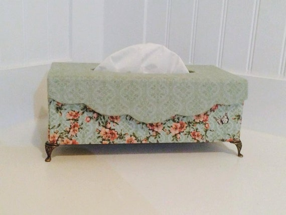 Tissue Box Cover Tissue Box Holder Decorative Tissue Box Etsy Mesmerizing Decorative Kleenex Box Covers