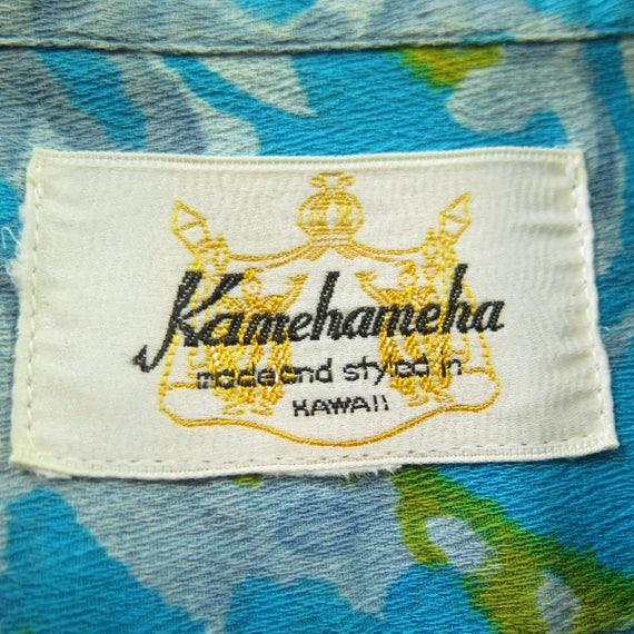Relax 0 Shirt Made M USA Kamehameha Hawaiian H98H Vintage 50s 9 Casual Mens qFztPw