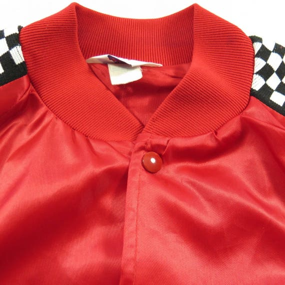Car Racing 1 Jersey Mens 90s Stock Club Garden 2 Satin State Jacket New L H23V Vintage 6WIf7nzH7