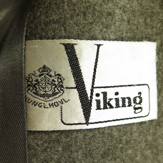 Long Mens H34K 5 Viking 34 Military Swedish 50s Coat Wool Vintage Overcoat 1 wU7BXq1