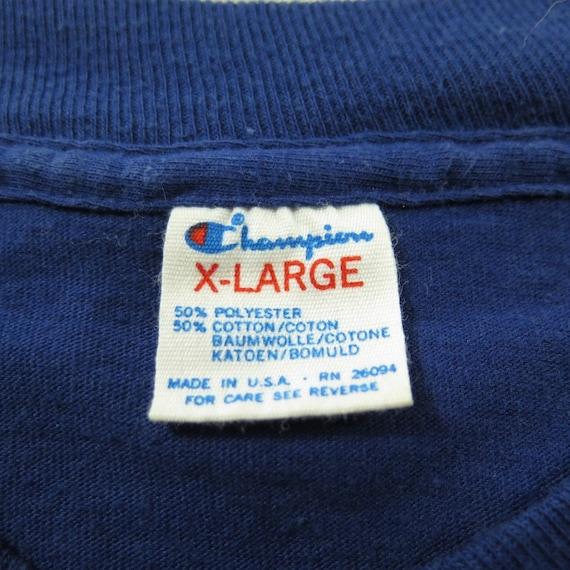 80s Mens 50 Vintage T H35P Dodgers Los 0 7 XL Baseball Champion 50 MLB Angeles shirt 0xPBrdxq