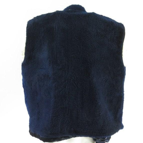 2 Blue 1 Ride Racing Satin Napa Jacket Fleece Puffy Regal Stripe Shocks L I06I 70s Vintage 6vOqgWUv