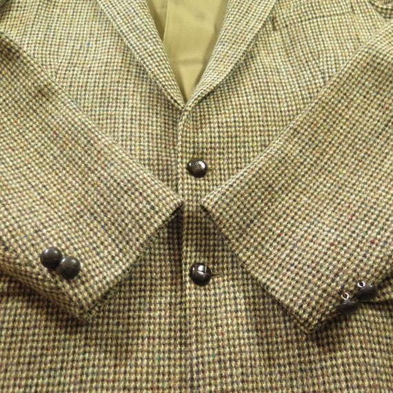 Harris Button Mens 44 Coat Wool England 60s Fleck 2 Made 1 3 H07X Vintage Tweed Sport 5qwAHxa