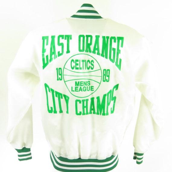 Jacket Deadstock Celtics 80s 14 Satin Felco Champs Vintage I12Z Nos L Puffy 1989 Basketball 0 qXExwz