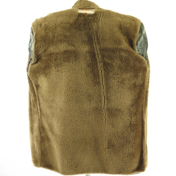 H78X Coat liner Lakeland Knot Vintage Mens fleece Medium Buttons 6 38 4 or 60s Leather W7ZyZPA