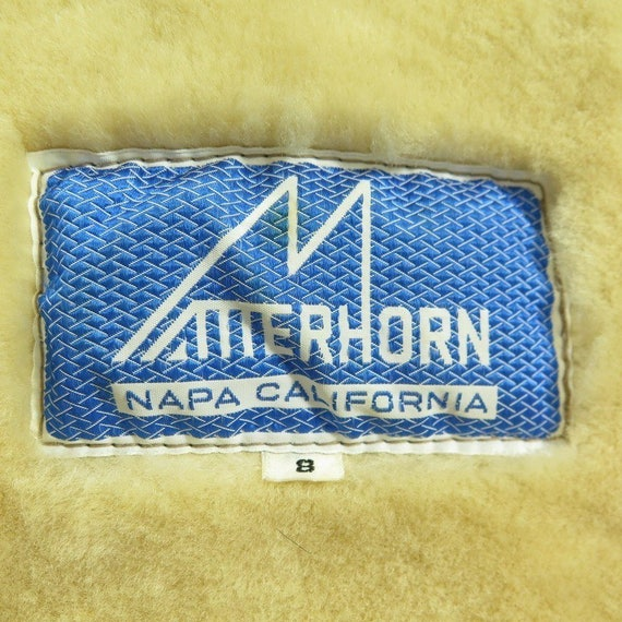 Jacket 8 California H14P Sheepskin Shearling Womens Puffy 11 2 Matterhorn Napa Vintage Xwx6qUC